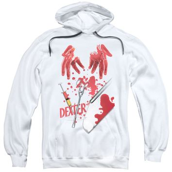 Dexter - Tools Of The Trade Adult Pull Over Hoodie