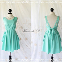 Mint Party Dress