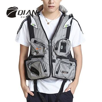 Swimming Pool beach Sailingmate Adult Fishing Accessorial Life Vest Water Sports Men&Women Survival Swimming Life Jackets Universal Drifting JacketSwimming Pool beach KO_14_1