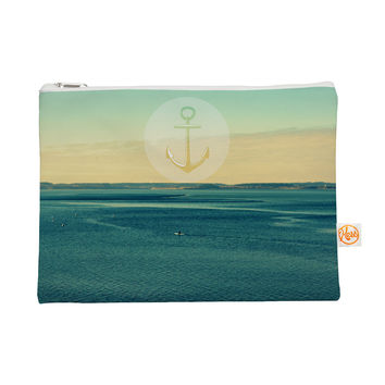 "Robin Dickinson ""Row Your Own Boat"" Teal Ocean Everything Bag"