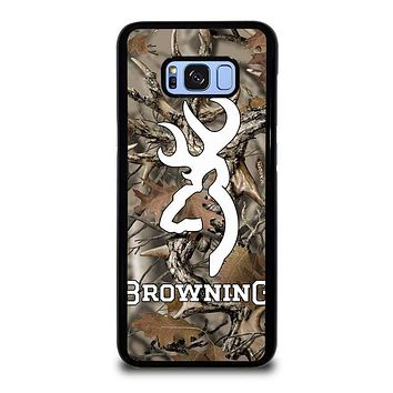 CAMO BROWNING Samsung Galaxy S8 Plus Case Cover