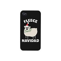 Fleece Navidad Cute Christmas Phone Case Great Gift Idea For X-mas
