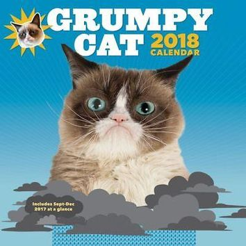 Grumpy Cat Wall Calendar, Grumpy Cat by Chronicle Books