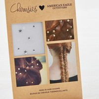 AEO Women's Charmsies X  Iron-in Hair Charms (Silver)