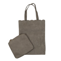 Tote's Cute Handbag In Grey