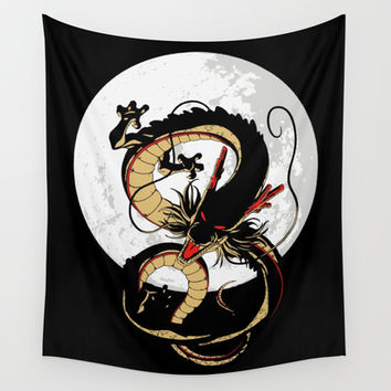 Shenron - Dragon Ball Z Wall Tapestry by TxzDesign