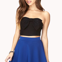 Darling Bow Tube Top