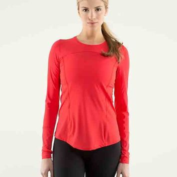 runbeam long sleeve | women's tops | lululemon athletica
