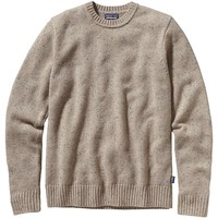 Patagonia Flecked Lambswool Crew Sweater - Men's