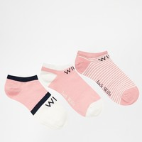 Jack Wills Sock Pack
