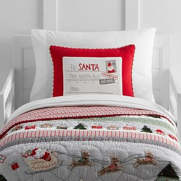 North Pole Toddler Bedding