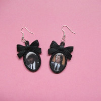 Vincent & Jules, Pulp Fiction Cameo Earrings
