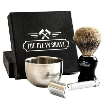 Gentleman's Shaving Kit by The Clean Shave