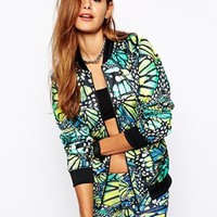 Adidas Originals Butterfly Bomber Jacket