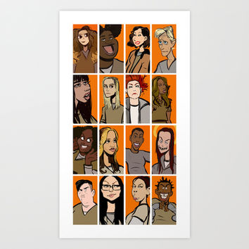 oitnb Art Print by stevie borbolla