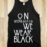 On wednesdays we wear black