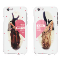 Brunette Blonde Phone Cases