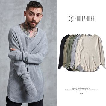 Winter Long Sleeve Cotton T-shirts [10895415043]