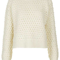 Knitted Wool Bobble Jumper - New In This Week  - New In