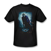 Batman Dark Knight Joker Poster Mens T-Shirt