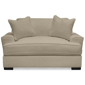 Ainsley Oversized Chair w/ 2 Throw Pillows, Only at Macy's   macys.com