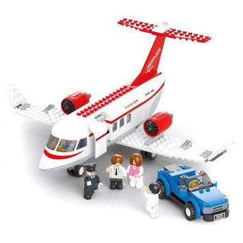 Private Jet plane (LEGO compatible)