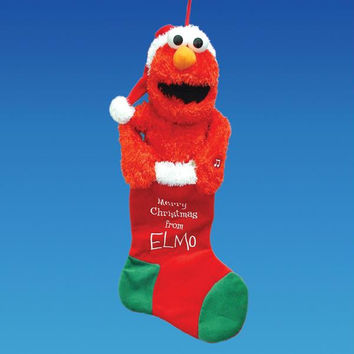 Christmas Stocking - Elmo
