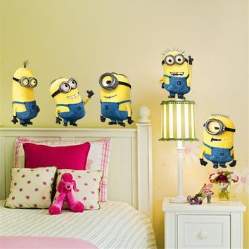 Minion wall stickers.