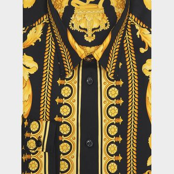 Versace Barocco SS'91 Silk Shirt for Men | US Online Store