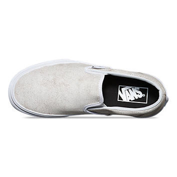 Cracked Leather Slip-On   Shop Classic Shoes at Vans