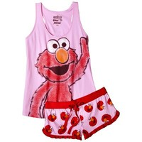 Sesame Street® Women's Sleep Tank and Short Set - Elmo