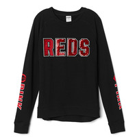Cincinatti Reds High/Low Perfect Crew - PINK - Victoria's Secret