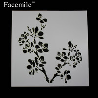 1PC Baking Kitchen Accessories Flower Fondant Cake Decorating Tools Cake Stencil Template spray Mold 51108