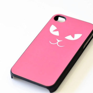 Cat Face iPhone Case - 13 Colors Available