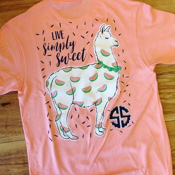 "Simply Southern ""Live Simply Sweet"" Short Sleeve Tee"