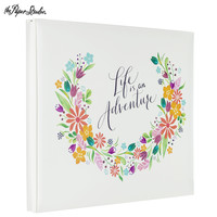 """Floral Life Quote Post Bound Scrapbook Album - 12"""" x 12""""   Hobby Lobby   1251909"""