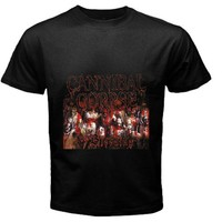 cannibal corpse black T-shirt size S, M, L, XL, 2XL, 3XL, 4XL and 5XL