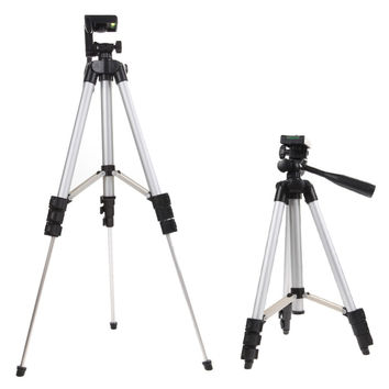 1Pcs 4 Sections 105cm Camera Tripod Monopod + Mobile Phone Holder Tripod Mount Holder with Bag for Camera DV Video Smart Phones
