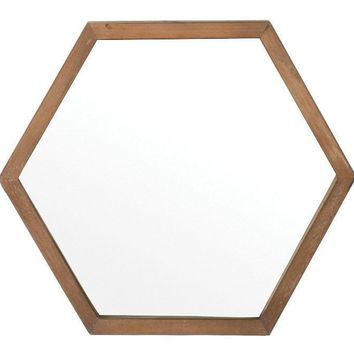 Sawyer Hexagonal Wall Mirror
