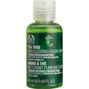 The Body Shop Online Only Travel Size Tea Tree Skin Clearing Facial Wash Ulta.com - Cosmetics, Fragrance, Salon and Beauty Gifts