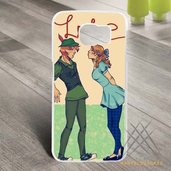Disney Peter Pan Kissing Custom case for Samsung Galaxy