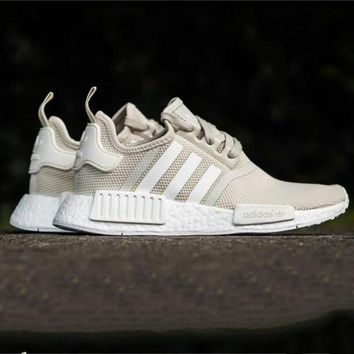 One-nice™ Adidas NMD Fashion Trending Women Leisure Running Sports Shoes Beige