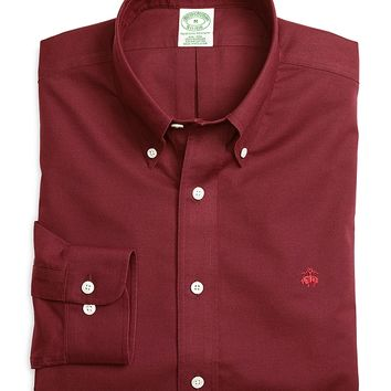 Non-Iron Extra-Slim Fit Solid Sport Shirt - Brooks Brothers