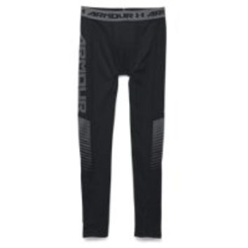 Under Armour Boys' UA Lightweight ColdGear Armour Up Fitted Leggings