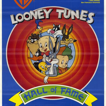 Looney Tunes: Hall of Fame 11x17 Movie Poster (1991)