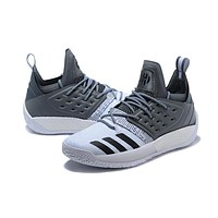 Adidas Harden Vol.2 Black White Grey Men Sneakers-1