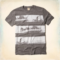 Photo Real Surf Graphic T-Shirt