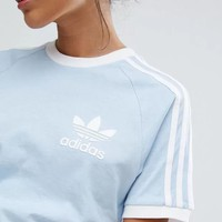 ADIDAS Women Casual Sport Running Tunic Shirt Top Blouse