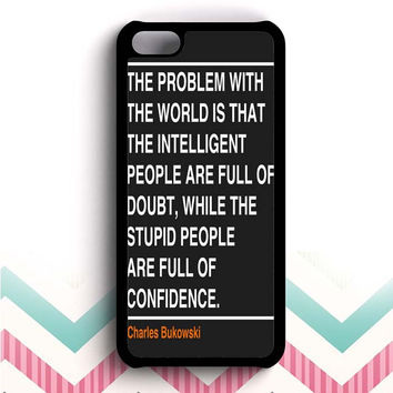 Ain't that the truth. The ones that ought to have conviction, are the ones that sit there all clueless.  iPhone 5c case