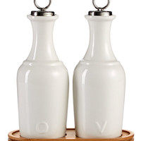 Martha Stewart Collection Oil & Vinegar Ceramic Cruet Set, Only at Macy's - Kitchen Gadgets - Kitchen - Macy's